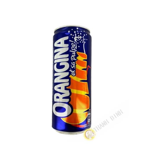 Getränk Orangina und Fruchtfleisch Dose 330ml