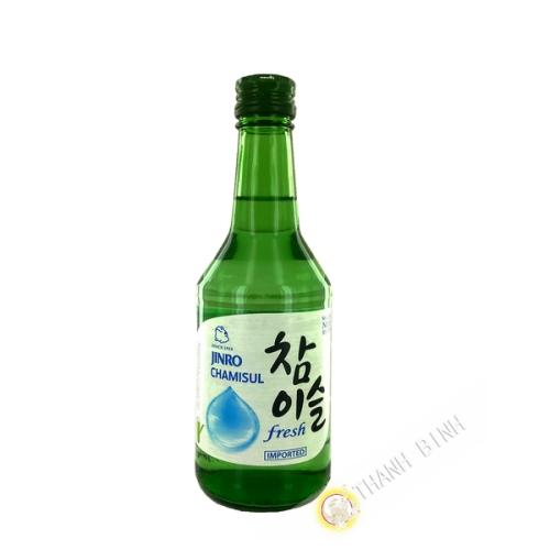 Chamisul soju JINRO 350ml 20° Corea