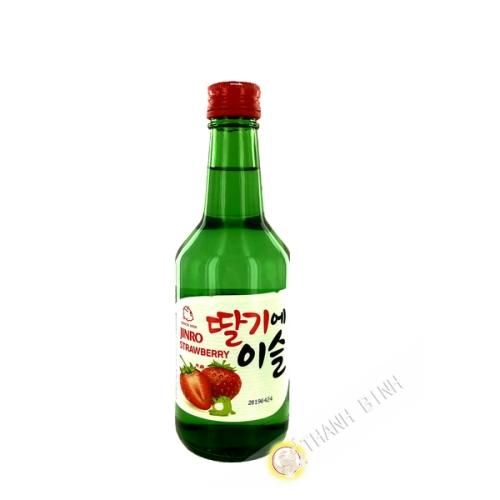 Chamisul soju strawberry 350ml 13 ° Korea