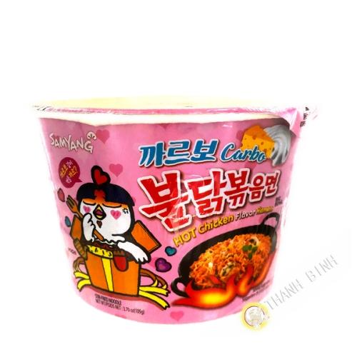 Nouille sauté carbo spicy SAMYANG 105g Corée
