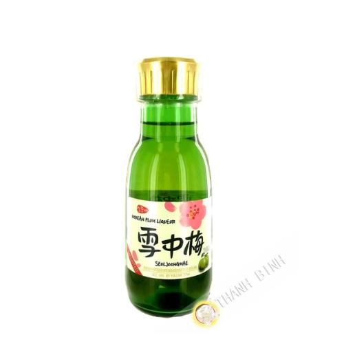 Umeshu con ciruelas SEOL JOONG MAE 375ml 14 ° coreano
