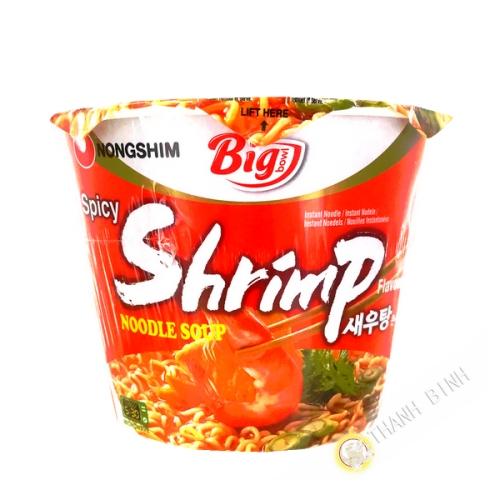 Noodle soup ramen shrimp cup NONGSHIM 115g Korea