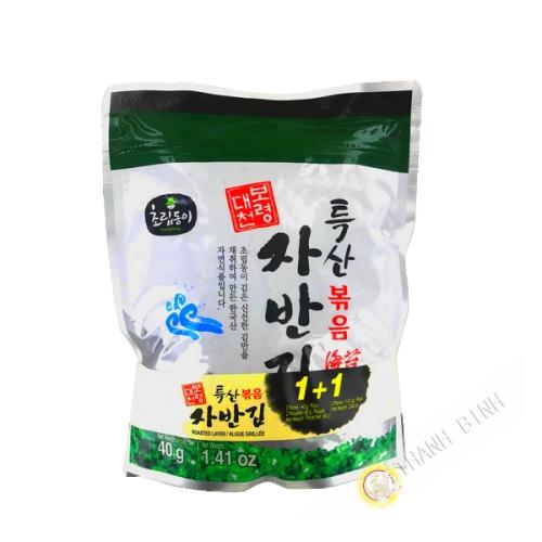 Flake seaweed toasted sesame 2x40g Korea