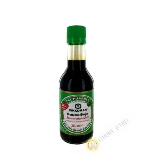 Soy sauce light 43% less salt KIKKOMAN 250ml Netherlands