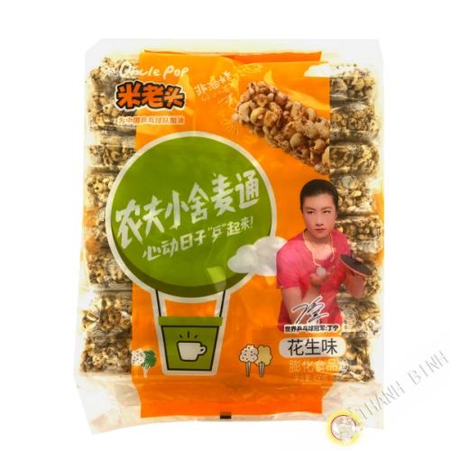 Barra de cereal de maní 400g