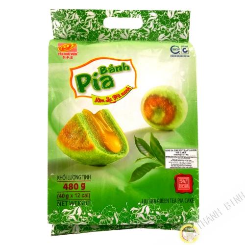 Gâteau Pia Kim Sa Thé vert TAN HUE VIEN 12x40g