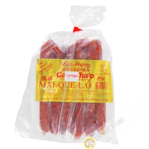 Saucisse chinoise Cam Thao Mai Que Lo Viet Hung 500g