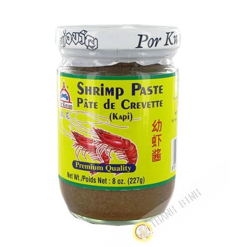 Pâte de crevette Kapi fin POR KWAN 227g Thailande