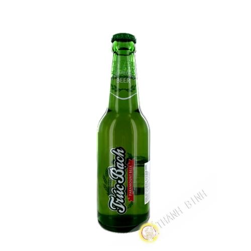 La cerveza Truc Bach botella HABECO 330 ml de Vietnam