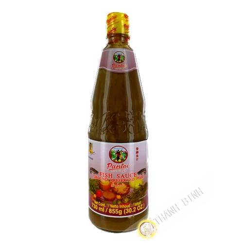 Salsa de pescado anchoa para ensalada de papaya PANTAI 730 ml Tailandia