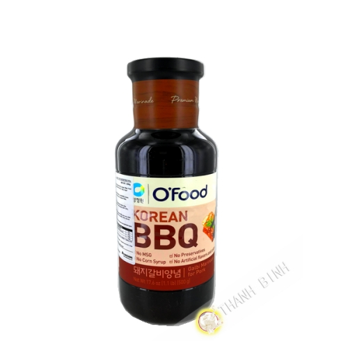 Barbacue marinade sauce pork ribs 500g Korea