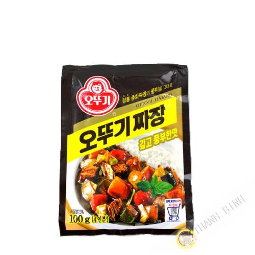 JIAJANG Pulver Ottogi schwarze Bohnensauce 100g Korea