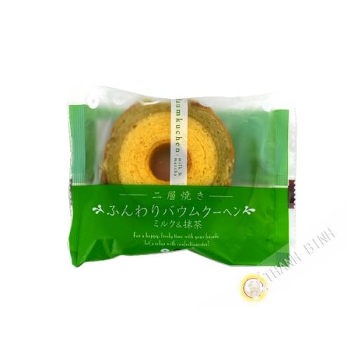 Gâteau Bamkuchen matcha au lait TAIYO 75g