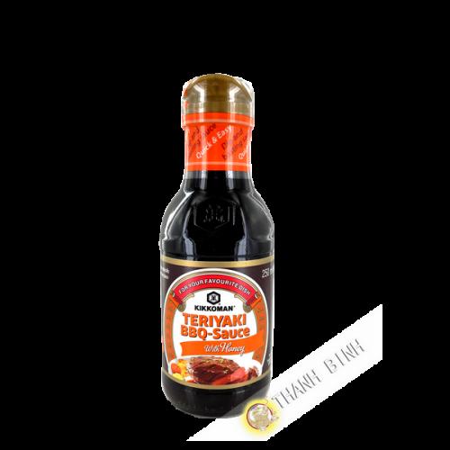 Sauce barbecue terriyaki miel KIKKOMAN 250ml Pays-Bas
