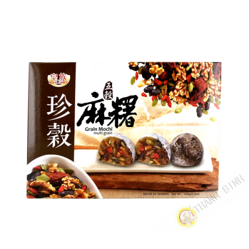 Mochi multigrain (céréales mélangés) ROYAL FAMILY 150g Taiwan
