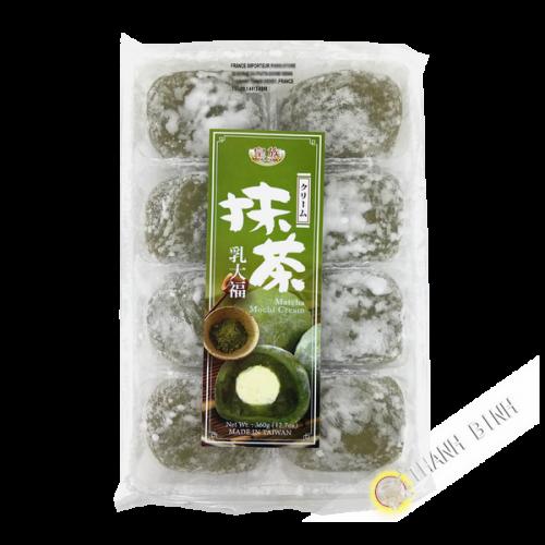 Mochi té verde matcha crema FAMILIA REAL 360g Taiwán