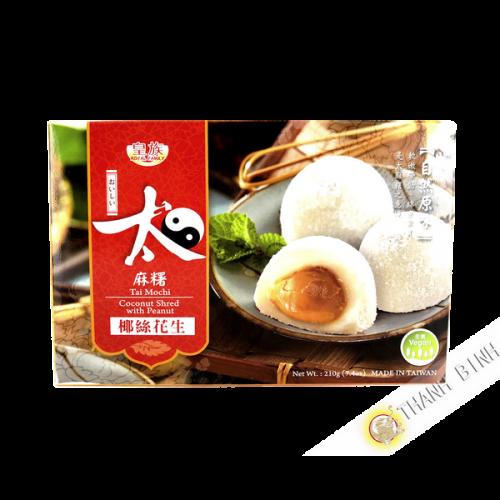 Mochi cacahuete avec coco shred ROYAL FAMILY 210g Taiwan