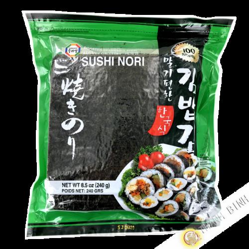 Hoja de algas sushi nori SURASANG (100 hojas) Corea
