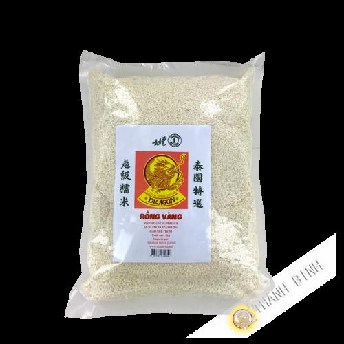 El arroz pegajoso Dragón de Oro 5kg 2016