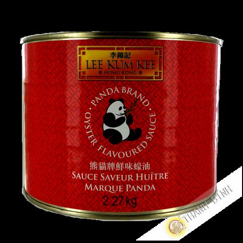 Salsa di ostriche panda LEE KUM KEE 2.27 kg HONG KONG