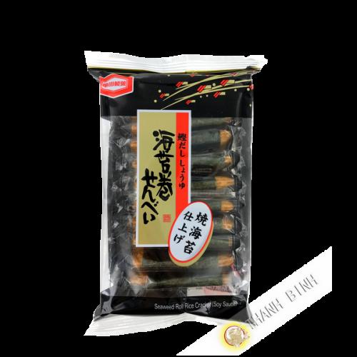 Crackers riz à la sauce soja et bonite KAMEDA 50g Japon