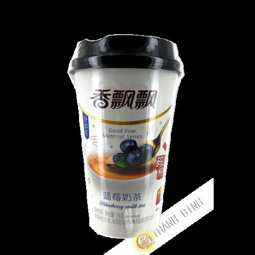 Milch latte Tee Geschmack Heidelbeere 76g China