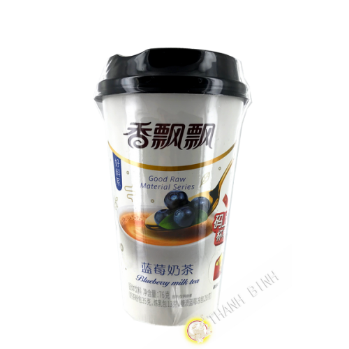 Tea latte with milk blueberry flavor 76g China