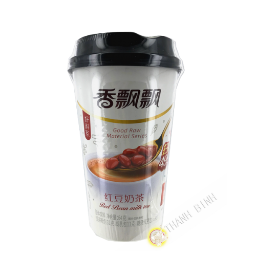 Tea latte milk flavor red bean 64g China