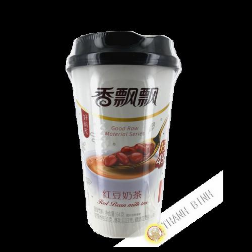 Thé latte au lait saveur haricot rouge 64g Chine