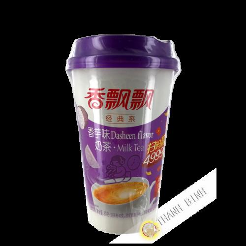 Tea latte with milk taro flavor 80g China