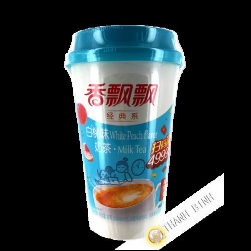 Leche té latte melocotón sabor 80g China