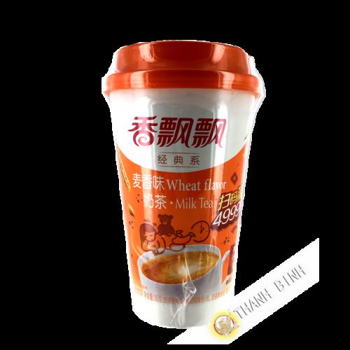 Thé latte au lait saveur blé 80g Chine