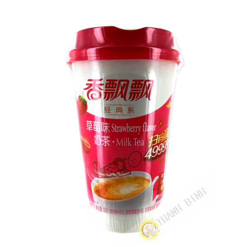 Tea milk latte strawberry flavor 80g China