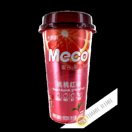 MECO peach & grapefruit tea 400ml China