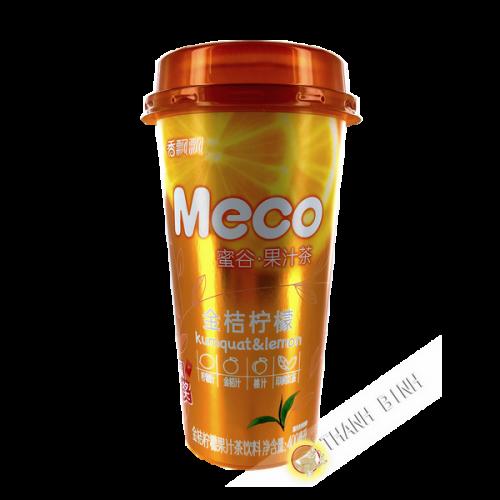 Thé kumquat & citron MECO 400ml Chine