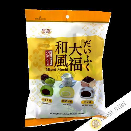 Mochi mini mélangé 250g Taiwan