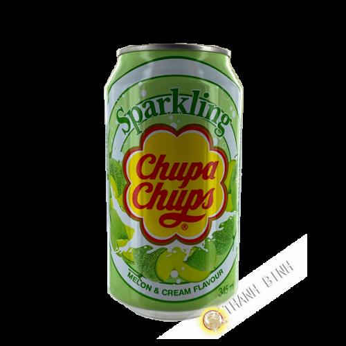 Chupa chups melon and cream soda drink 345ml Korea