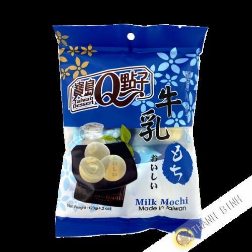 Taiwán leche mochi postre 120g Taiwán
