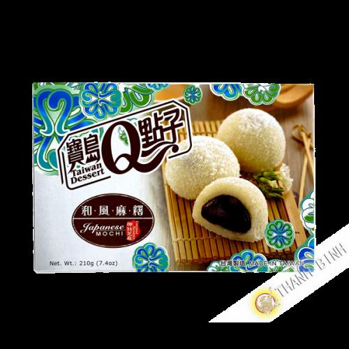 Mochi sésamo coco 210g Taiwán
