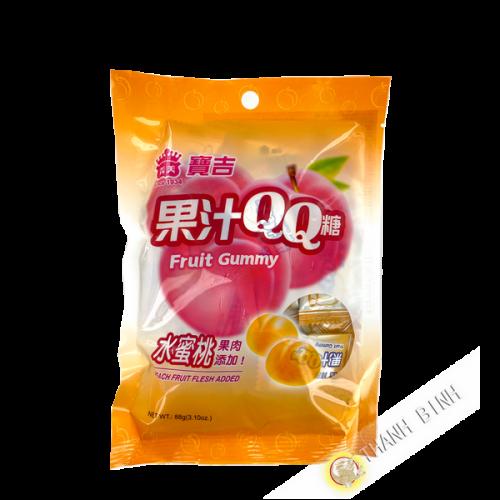 Gummy pêche IMEI 88g Taiwan