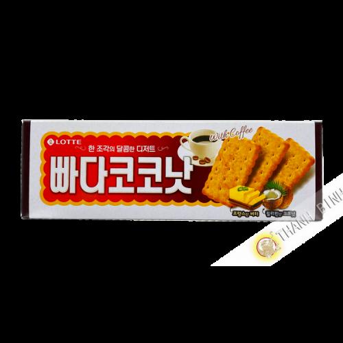 Galleta de mantequilla-RAPE de coco 100g Corea