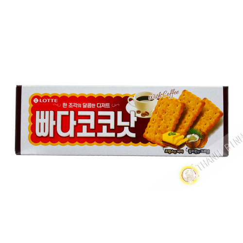 Keks Butter-COCO LOTTE 100g Korea