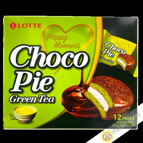Gateaux choco pie the vert LOTTE 336g Corée