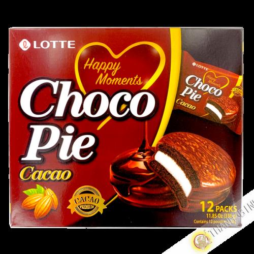 Gateaux choco pie cacao LOTTE 336g Corée