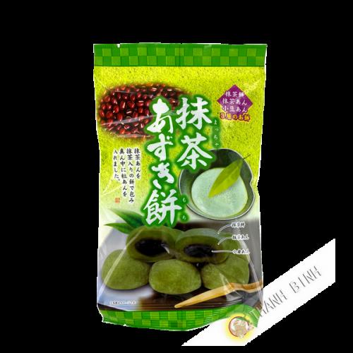 Mochi cake green tea matcha red bean azuki 147g Taiwan
