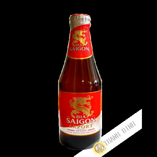La cerveza SAI GON 330 ml de Vietnam
