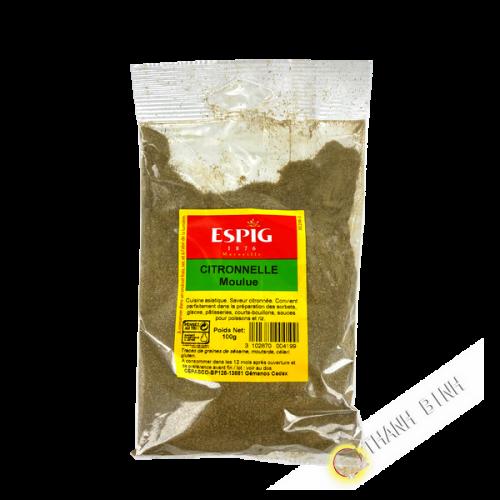 Citronnelle moulue ESPIG 100g