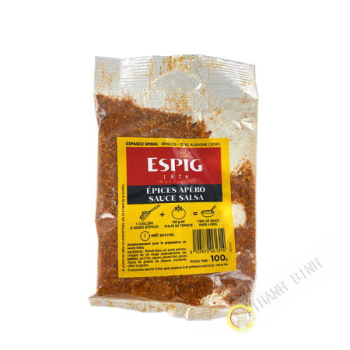 Apéro spices salsa sauce ESPIG 100g