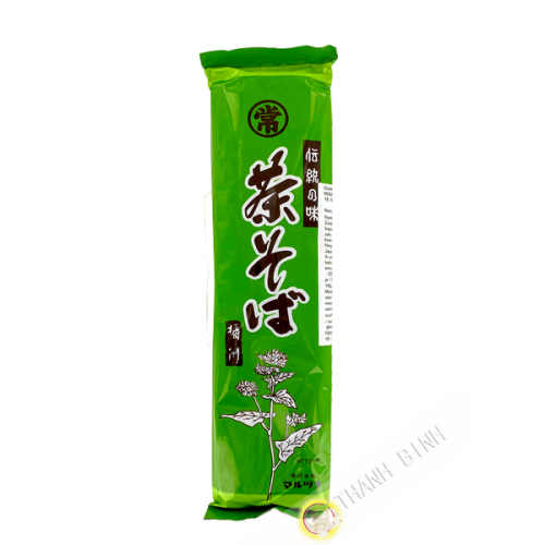 Pate soba thé vert 250g Japon