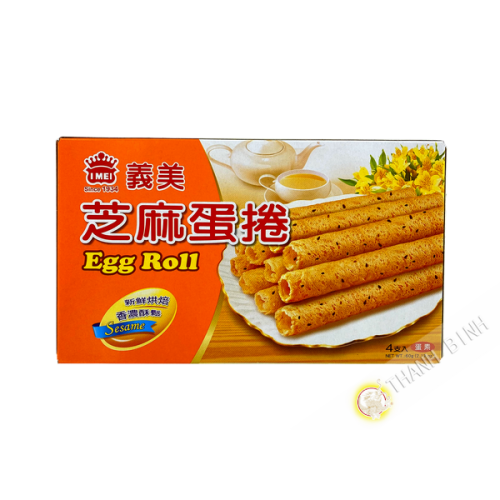 Biscuit rouleau œuf sésame IMEI 60g Taiwan